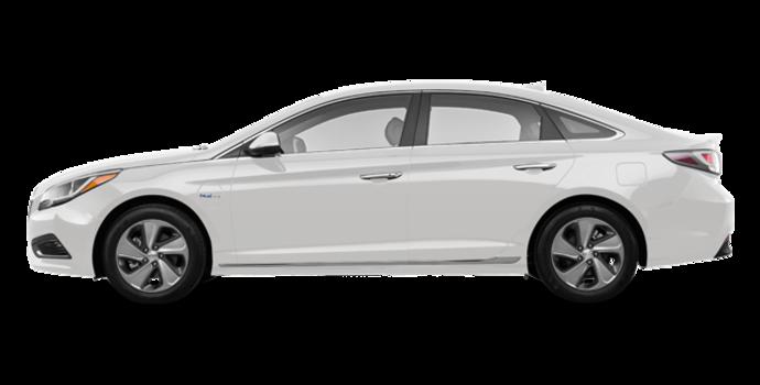 2016 Hyundai Sonata Plug-in Hybrid ULTIMATE   Photo 4   Ice White