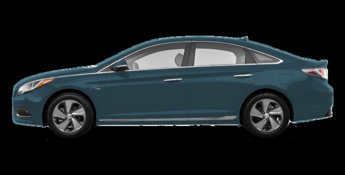 2016 Hyundai Sonata Plug-in Hybrid ULTIMATE   Photo 4   Graphite Blue
