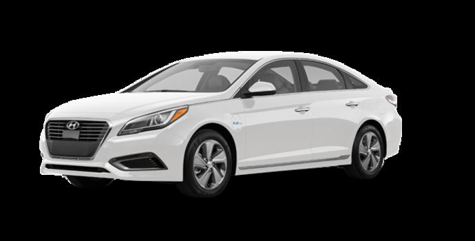 2016 Hyundai Sonata Plug-in Hybrid ULTIMATE   Photo 6   Ice White