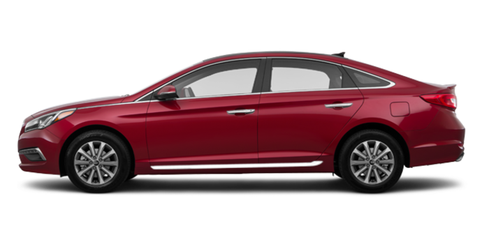 2016 Hyundai Sonata LIMITED | Photo 4 | Venetian Red