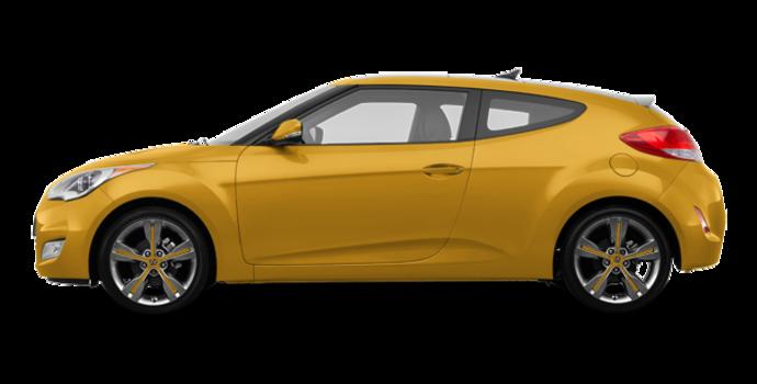 2016 Hyundai Veloster TECH | Photo 4 | Sunflower Yellow