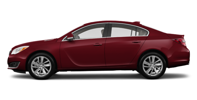 2017 Buick Regal Sportback BASE | Photo 4 | Crimson Red