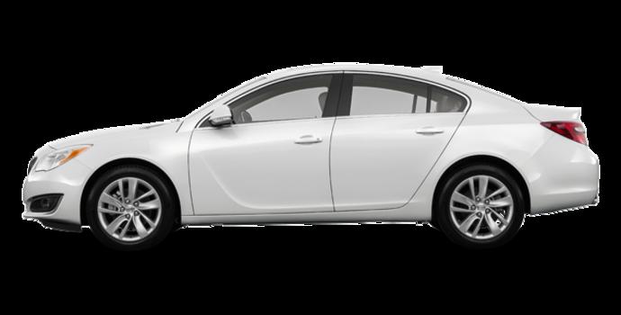 2017 Buick Regal Sportback BASE | Photo 4 | Summit White