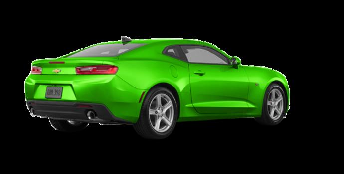 2017 Chevrolet Camaro coupe 1LT   Photo 5   Krypton Green