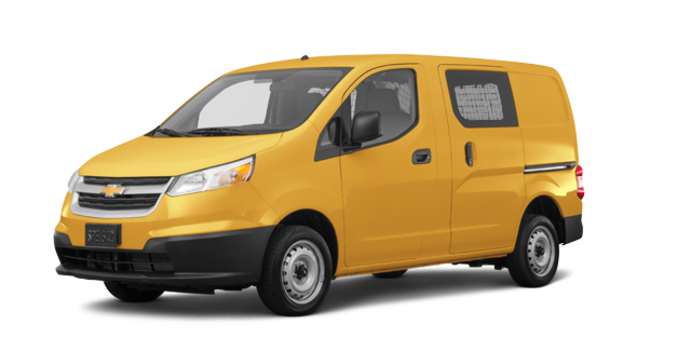 2017 Chevrolet City Express 1LT | Photo 6 | Sunglow Yellow