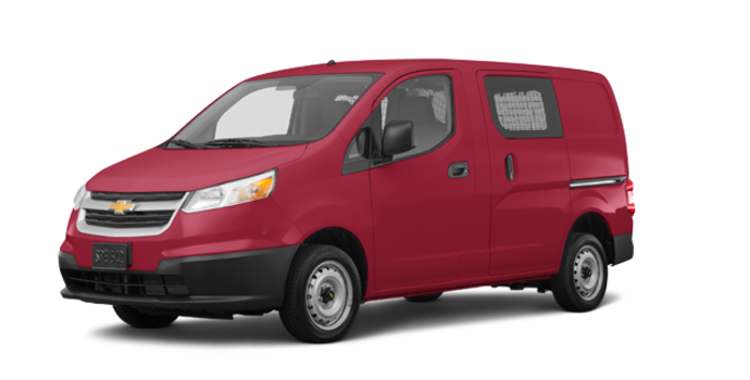 2017 Chevrolet City Express 1LT | Photo 6 | Furnace Red