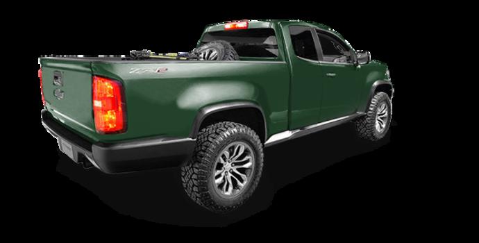 2017 Chevrolet Colorado ZR2   Photo 5   Deepwood Green Metallic