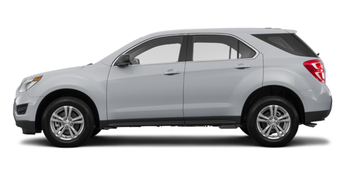 2017 Chevrolet Equinox LS   Photo 4   Silver Ice Metallic