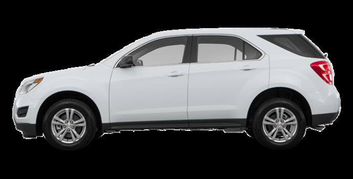 2017 Chevrolet Equinox LS   Photo 4   Summit White