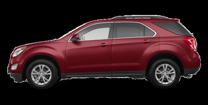 2017 Chevrolet Equinox LT   Photo 4   Siren Red