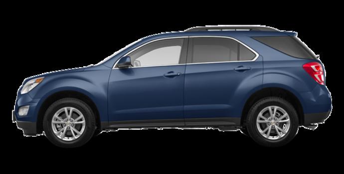 2017 Chevrolet Equinox LT   Photo 4   Patriot Blue Metallic