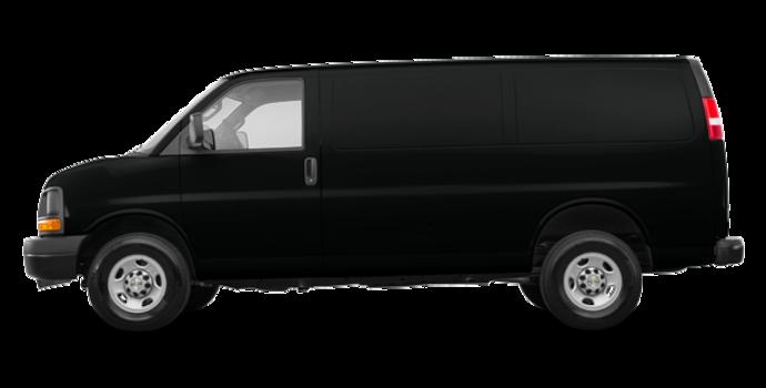 2017 Chevrolet Express 3500 CARGO | Photo 4 | Black