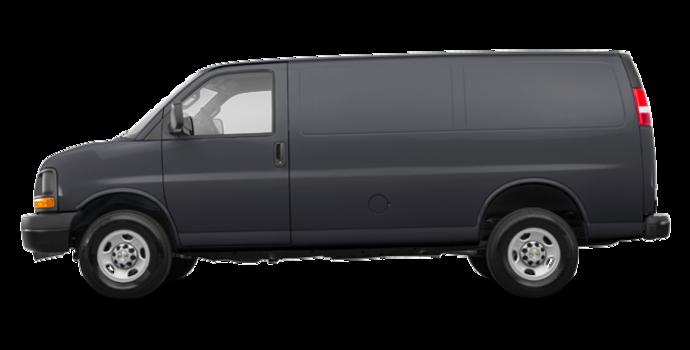 2017 Chevrolet Express 3500 CARGO | Photo 4 | Cyber Grey Metallic