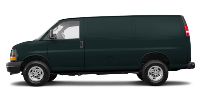 2017 Chevrolet Express 3500 CARGO | Photo 4 | Graphite Metallic