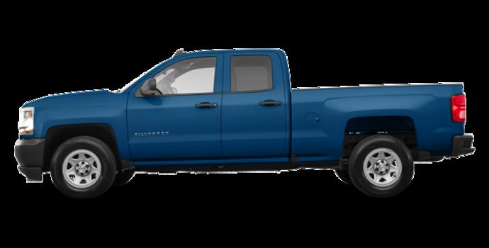 2017 Chevrolet Silverado 1500 WT | Photo 4 | Deep Ocean Blue Metallic