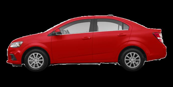 2017 Chevrolet Sonic LT | Photo 4 | Cajun Red