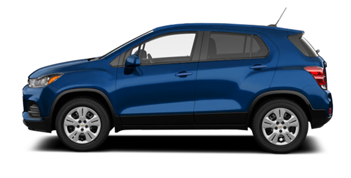 2017 Chevrolet Trax LS | Photo 4 | Blue Topaz Metallic