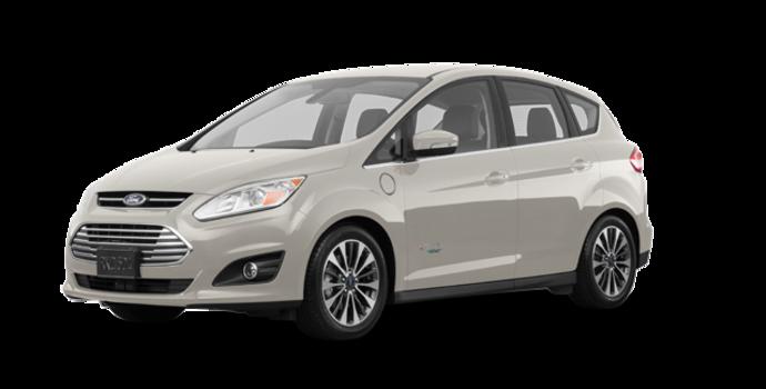 2017 Ford C-MAX ENERGI TITANIUM | Photo 6 | White Gold