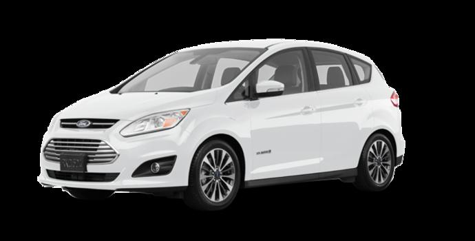 2017 Ford C-MAX HYBRID TITANIUM | Photo 6 | White Platinum