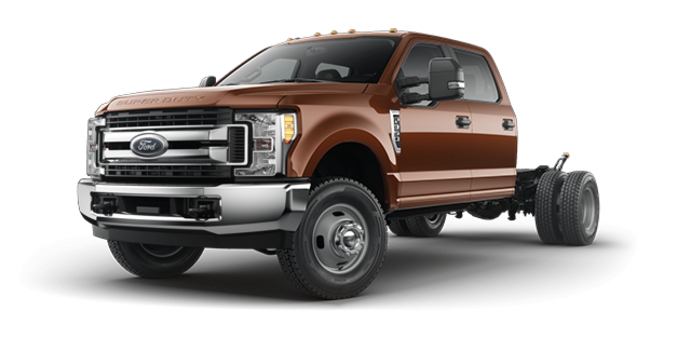 2017 Ford Chassis Cab F-350 XLT | Photo 4 | Bronze Fire