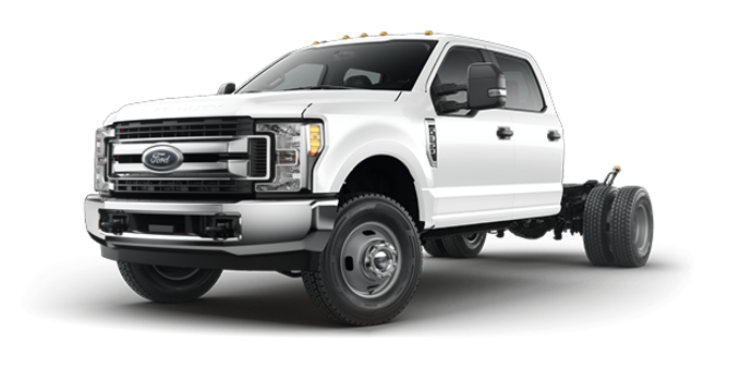 2017 Ford Chassis Cab F-350 XLT | Photo 4 | Oxford White