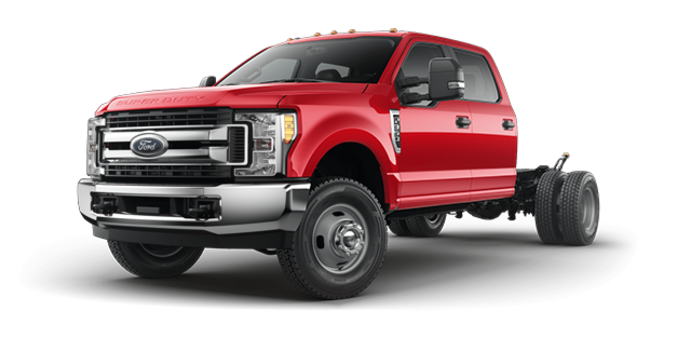 2017 Ford Chassis Cab F-350 XLT | Photo 4 | Race Red