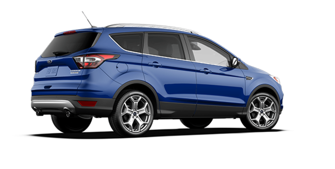 2017 Ford Escape TITANIUM   Photo 5   Lightning Blue