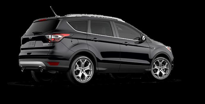 2017 Ford Escape TITANIUM   Photo 5   Shadow Black