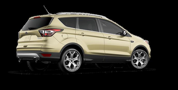 2017 Ford Escape TITANIUM   Photo 5   White Gold
