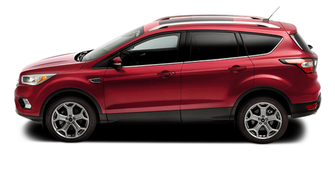 2017 Ford Escape TITANIUM   Photo 4   Ruby Red