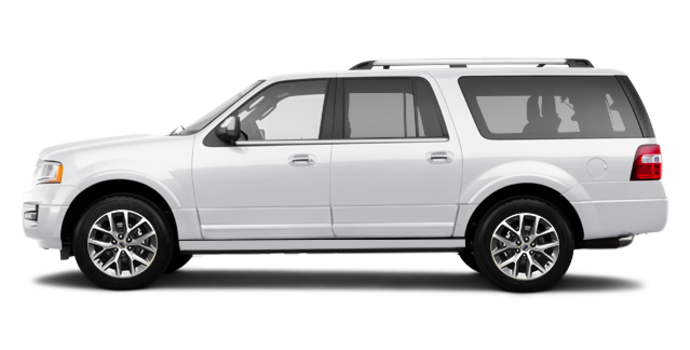 2017 Ford Expedition LIMITED MAX   Photo 4   White Platinum Metallic
