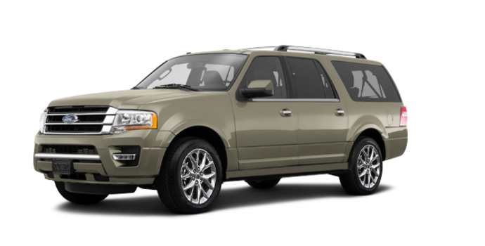 2017 Ford Expedition LIMITED MAX   Photo 6   White Gold Metallic