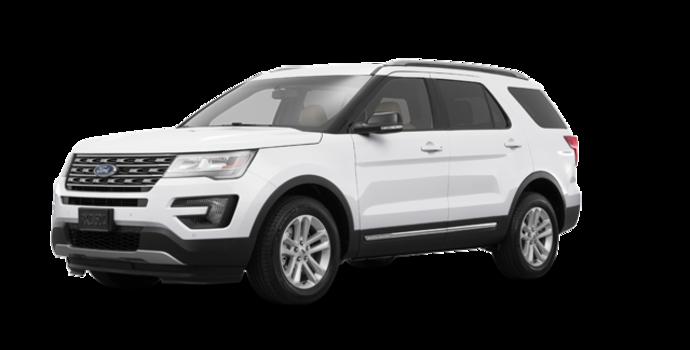 2017 Ford Explorer XLT | Photo 6 | White Platinum