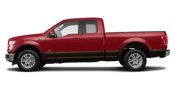 2017 Ford F-150 LARIAT | Photo 4 | Ruby Red Metallic/Caribou