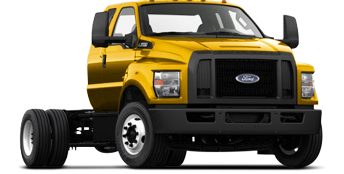 2017 Ford F-650 SD Gas Pro Loader | Photo 4 | School Bus Yellow
