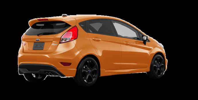 2017 Ford Fiesta Hatchback ST   Photo 5   Orange Spice