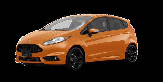 2017 Ford Fiesta Hatchback ST   Photo 6   Orange Spice