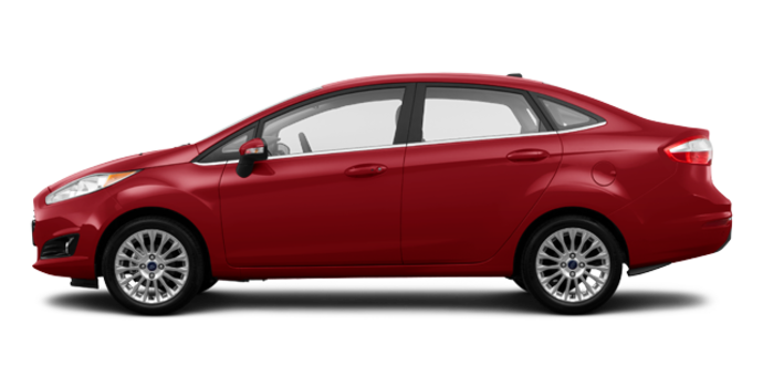 2017 Ford Fiesta Sedan TITANIUM | Photo 4 | Ruby Red