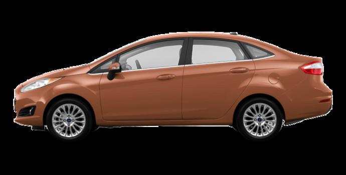 2017 Ford Fiesta Sedan TITANIUM | Photo 4 | Chrome Copper