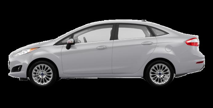 2017 Ford Fiesta Sedan TITANIUM | Photo 4 | Ingot Silver