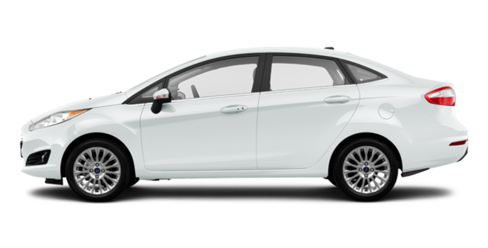 2017 Ford Fiesta Sedan TITANIUM | Photo 4 | White Platinum