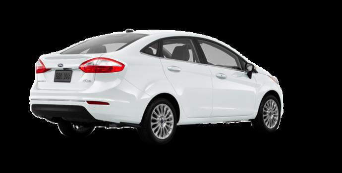 2017 Ford Fiesta Sedan TITANIUM | Photo 5 | White Platinum