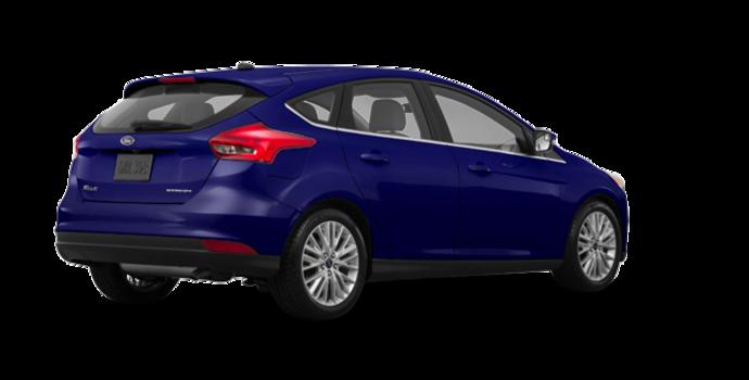 2017 Ford Focus Hatchback TITANIUM | Photo 5 | Kona Blue