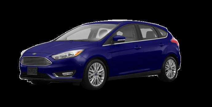 2017 Ford Focus Hatchback TITANIUM | Photo 6 | Kona Blue
