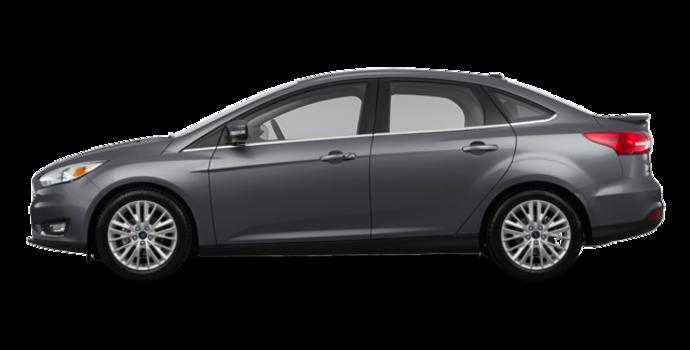 2017 Ford Focus Sedan TITANIUM | Photo 4 | Magnetic Metallic
