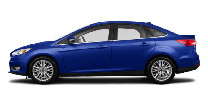 2017 Ford Focus Sedan TITANIUM | Photo 4 | Kona Blue Metallic