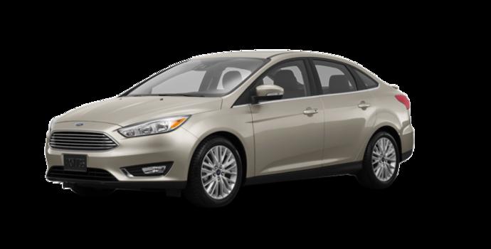 2017 Ford Focus Sedan TITANIUM | Photo 6 | White Gold