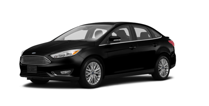 2017 Ford Focus Sedan TITANIUM | Photo 6 | Shadow Black