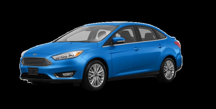 2017 Ford Focus Sedan TITANIUM | Photo 6 | Blue Candy Metallic