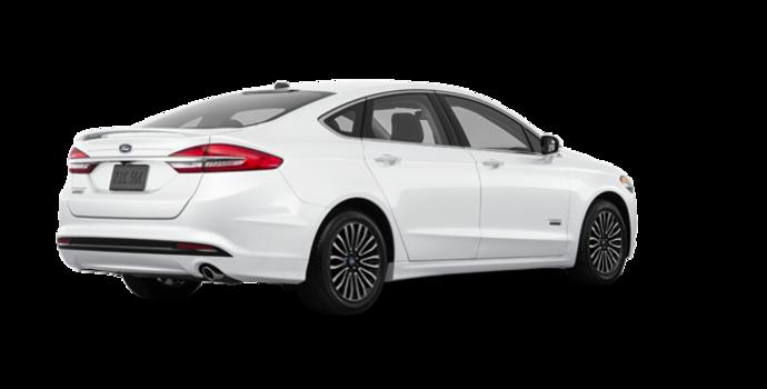 2017 Ford Fusion Energi PLATINUM | Photo 5 | White Platinum